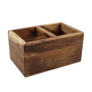 Dělený stojan na příbory  z akáciového dřeva T&G Woodware Nordic Natural Trug
