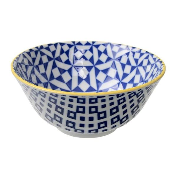 Porcelánová miska Geo Tayo Geometric No2, 15,2x6,7 cm