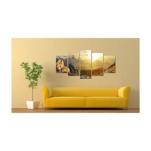 Obraz na plátně Artgeist Sun Salutation, 200x100cm