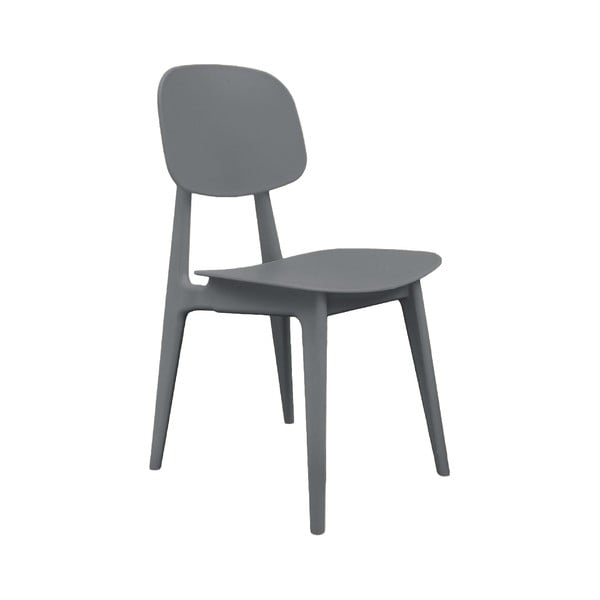 Szare krzesło Leitmotiv Vintage
