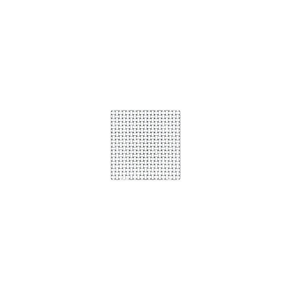 Čtvercový talíř z křišťálového skla Nachtmann Bossa Nova,28x28cm