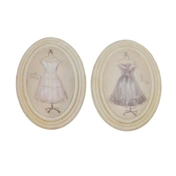 Sada 2 obrázků Antic Line Vintage Dress