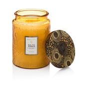 Svíčka s vůní pryskyřice, vanilky, orchideje a santalového dřeva Voluspa, 100hodin hoření