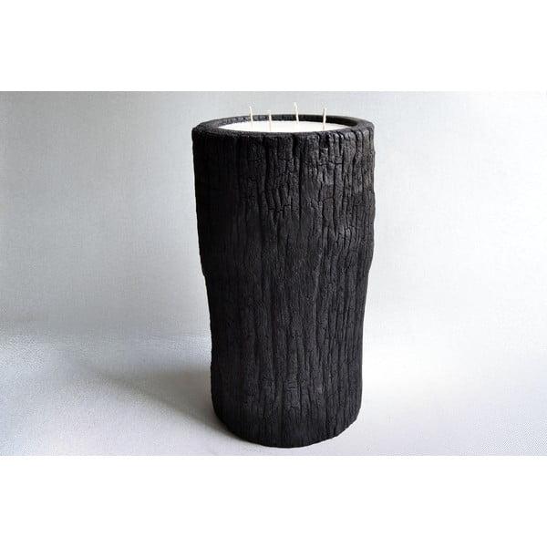 Palmová svíčka Legno Bruciato s vůní vanilky a pačuli, 80 hodin hoření