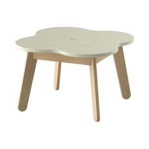 Krémový dětský stolek s úložným prostorem Timoore  Simple Play
