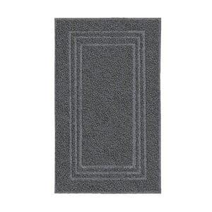 Tmavě šedý ručník KleineWolke Royal, 50x80cm