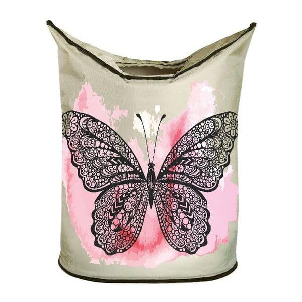 Koš na prádlo Black Butterfly