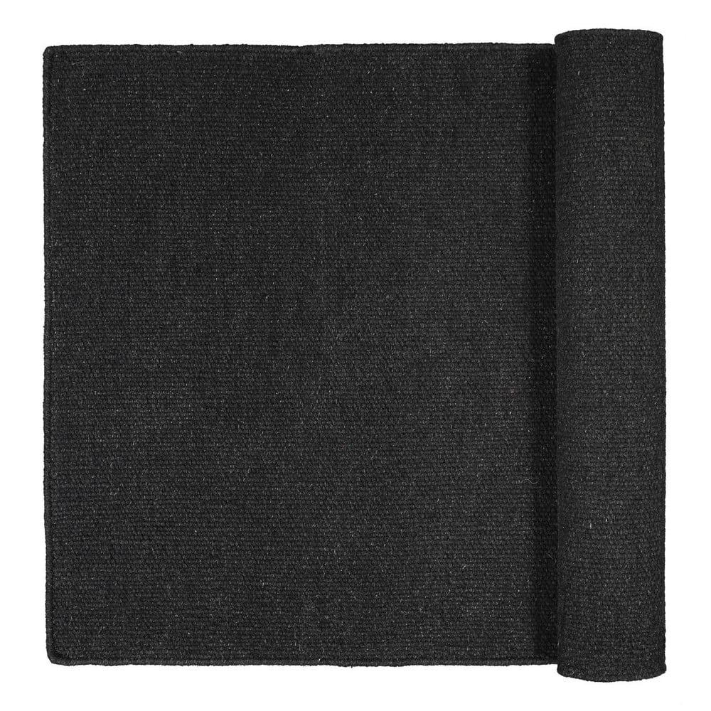 Černý koberec Blomus Pura, 140 x 200 cm