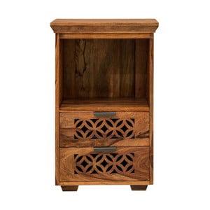 Noční stolek z masivního palisandrového dřeva Massive Home Rosie