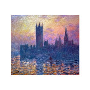 Tablou Claude Monet - The Houses of Parliament, Sunset, 80x70 cm