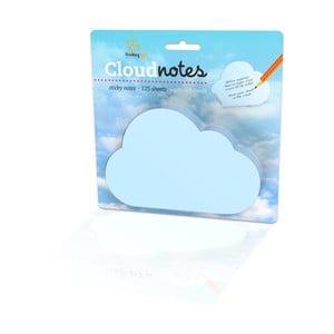 Poznámkový bloček Thinking gifts Cloud