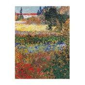 Tablou Vincent van Gogh - Flower garden, 40x30 cm