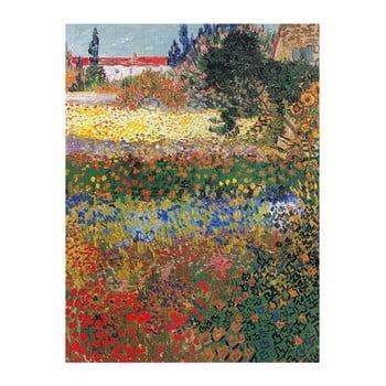 Reproducere pe pânză după Vincent van Gogh – Flower garden, 40 x 30 cm de la Fedkolor