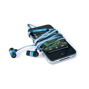 Sluchátka hi-Earphones, modrá