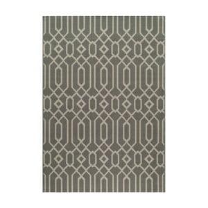 Šedý koberec Nourison Baja Talara, 290 x 201 cm