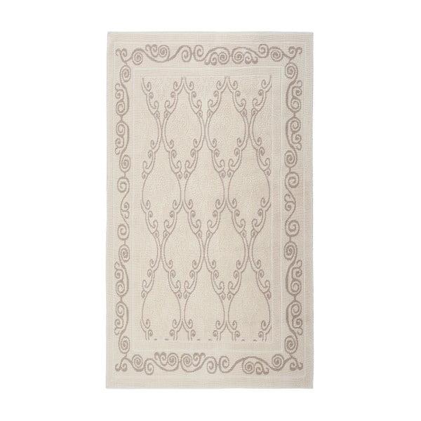 Krémový bavlněný koberec Floorist Gina, 120 x180cm