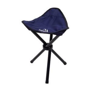 Tmavě modrá skládací kempingová židle Cattara Oslo