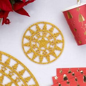 Sada 4 podtácků Neviti Dazzling Christmas