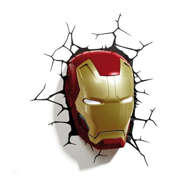 Nástěnné světlo s nálepkou Ironman