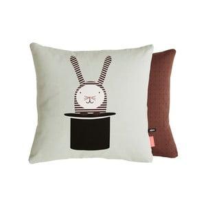 Dětský polštář z organické bavlny OYOY Rabbit