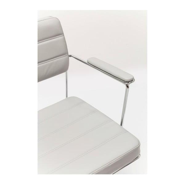Šedá kancelářská židle Kare Design Dottore