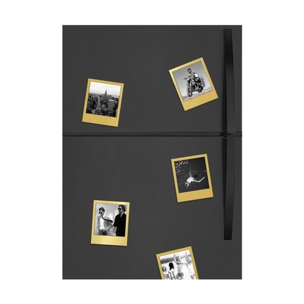 Magnetické rámečky DOIY Polaroid, zlaté