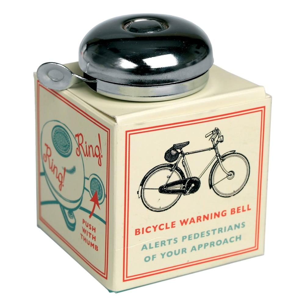 Klasický chromový zvonek na jízdní kolo Rex London Bicycle
