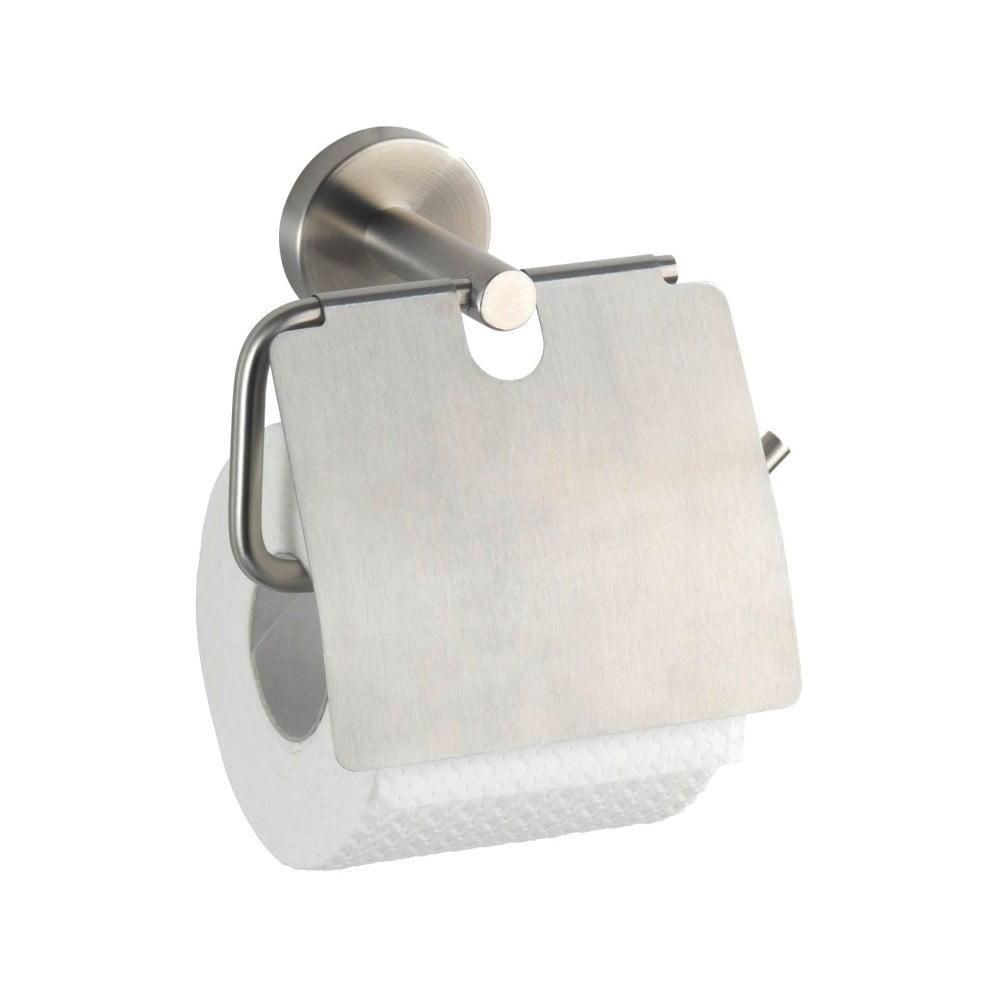 Nástěnný držák na toaletní papír Wenko Bosio With Cover