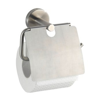 Suport de perete pentru hârtie toaletă Wenko Bosio With Cover