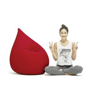 Červený sedací vak Terapy Elly