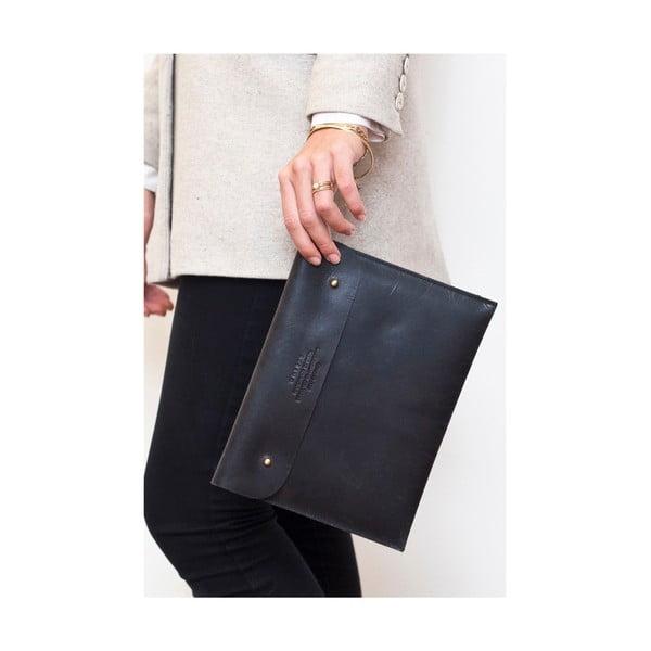 Kožené pouzdro na iPad Sleeve, černé