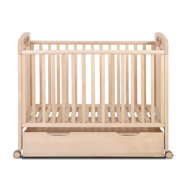 Drewniana szuflada pod łóżeczko dziecięce YappyKids, 119x 62cm