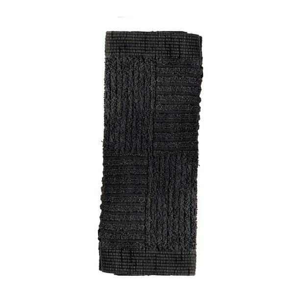 Čierny uterák Zone Classic, 30x30cm