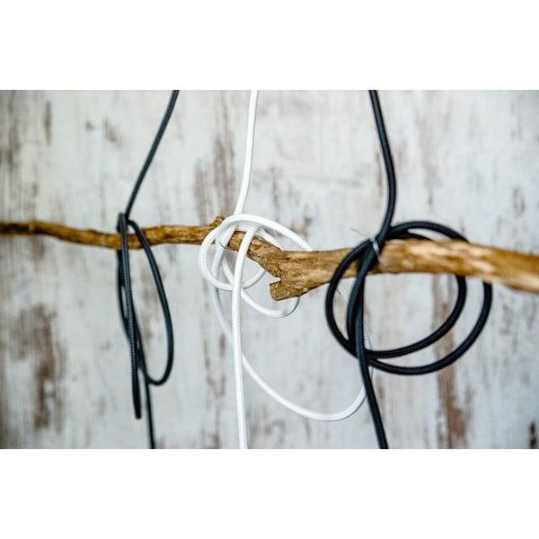 Barevný  kabel Loft, burgundské víno