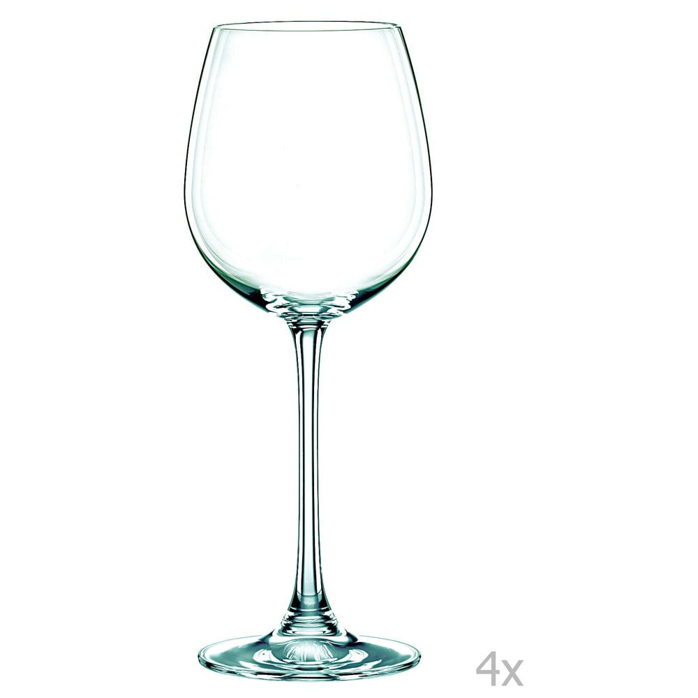 Sada 4 sklenic na bílé víno z křišťálového skla Nachtmann Vivendi Premium White Wine Goblet Set, 387 ml