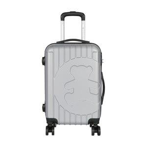 Světle šedý příruční kufr LULU CASTAGNETTE Philip, 44l