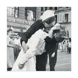 Obraz Kiss - Wars and kiss, 26x26 cm