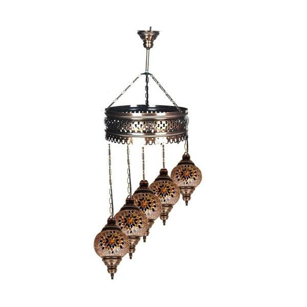 Skleněná lampa Fishing XVI
