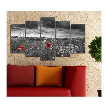 Tablou din mai multe piese Insigne Permuto, 102 x 60 cm