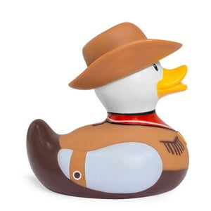 Kachnička do vany Bud Ducks Cowboy