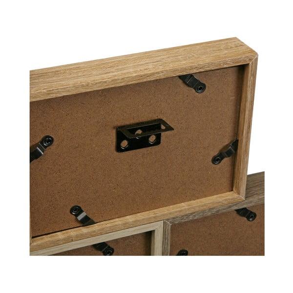 Dřevěný rámeček na 10 fotografií Versa Memories