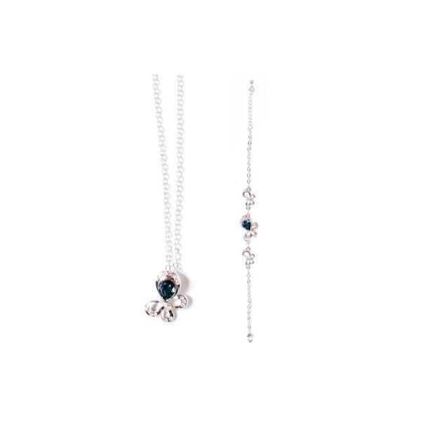 Set náhrdelník a náramek Swarovski Elements Tear Ocean