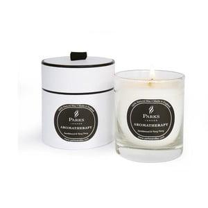 Lumânare parfumată Parks Candles London Aromatherapy, aromă de lemn de santal, 45 ore