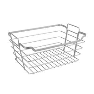 Ocelový koupelnový košík Metaltex Basket