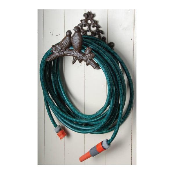 Nástěnný litinový držák na zahradní hadici Esschert Design