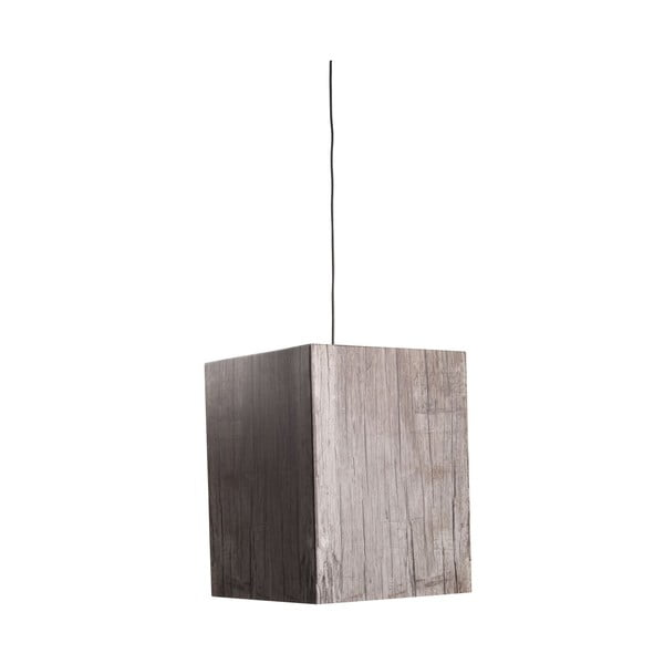 Lampa Heavy Light Grey Wood