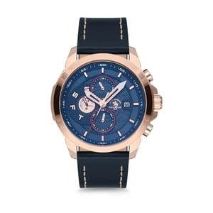 Pánské hodinky s koženým řemínkem Santa Barbara Polo & Racquet Club Climb