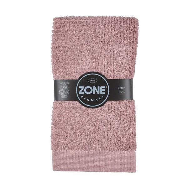 Classic rózsaszín törölköző, 50 x 100 cm - Zone