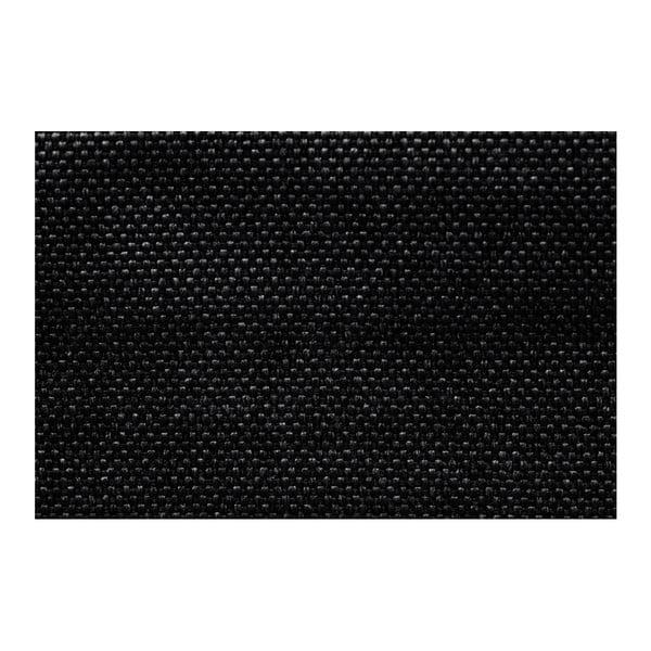 Černá rohová pohovka s lůžkem na levé straně INTERIEUR DE FAMILLE PARIS Aventure