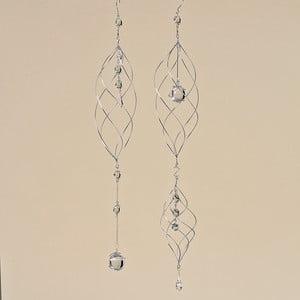 Sada 2 dekorativních závěsných spirál Debby